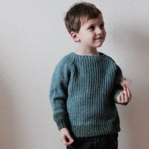 Linus en hæklet trøje til børn