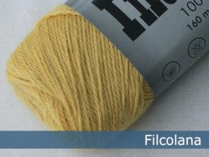 Filcolana Indiecita. Farve: 233 Soft Yellow