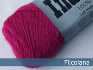 Filcolana Indiecita. Farve: 261 Mexican Pink