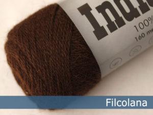 Filcolana Indiecita. Farve: 302 Coffee Bean