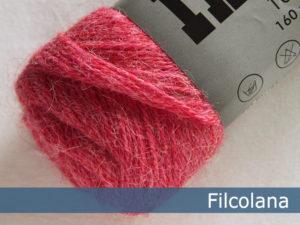 Filcolana Indiecita. Farve: 813 Strawberry Pink (melange)