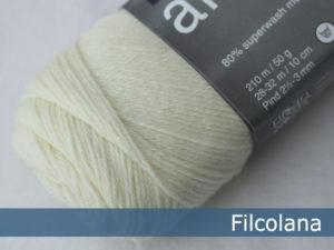 Filcolana Arwetta Classic. Farve: 101 Natural White