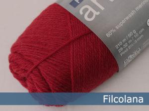 Filcolana Arwetta Classic. Farve: 139 Deep Red