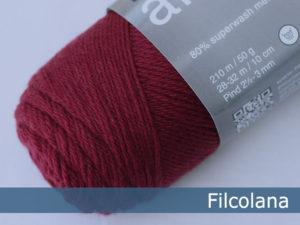 Filcolana Arwetta Classic. Farve: 140 Burgundy