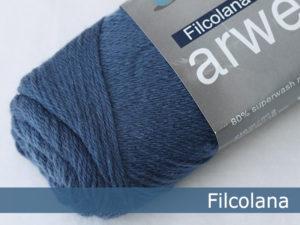 Filcolana Arwetta Classic. Farve: 143 Denim Blue