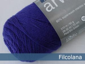 Filcolana Arwetta Classic. Farve: 194 Violet