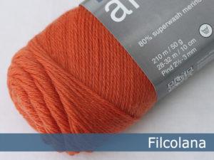 Filcolana Arwetta Classic. Farve: 198 Tangerine