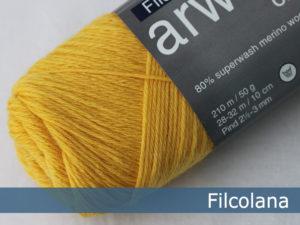 Filcolana Arwetta Classic. Farve: 200 Daffodil