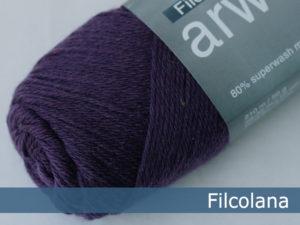 Filcolana Arwetta Classic. Farve: 235 Grape Royal