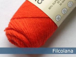 Filcolana Arwetta Classic. Farve: 252 Chock Orange