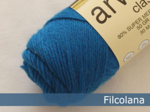 Filcolana Arwetta Classic. Farve: 265 Azul