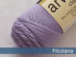 Filcolana Arwetta Classic. Farve: 267 Lavender Frost