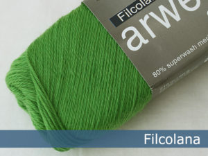 Filcolana Arwetta Classic. Farve: 279 Juicy Green