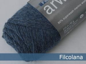 Filcolana Arwetta Classic. Farve: 726 Jeans Blue (melange)