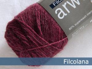 Filcolana Arwetta Classic. Farve: 807 Boysenberry (melange)
