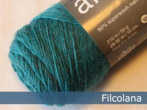 Filcolana Arwetta Classic. Farve: 811 Caribean Sea (melange)