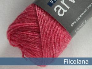 Filcolana Arwetta Classic. Farve: 813 Strawberry Pink (melange)