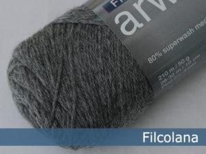 Filcolana Arwetta Classic. Farve: 955 Medium Grey (melange)