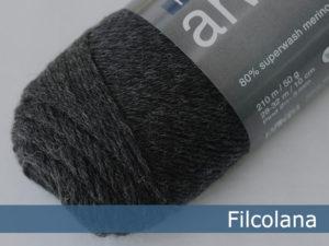 Filcolana Arwetta Classic. Farve: 956 Charcoal (melange)