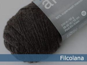 Filcolana Arwetta Classic. Farve: 975 Dark Chocolate (melange)