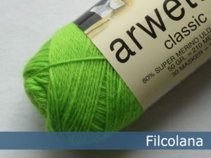 Filcolana Arwetta Classic. Farve: 250 Disco Green