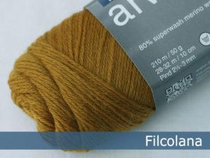 Filcolana Arwetta Classic. Farve: 136 Mustard