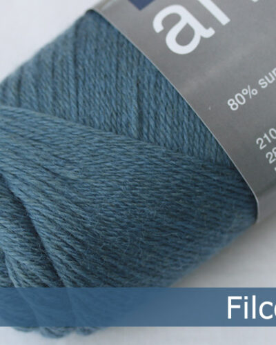 Filcolana Arwetta Classic. Farve: 192 Steel Blue