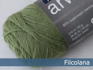Filcolana Arwetta Classic. Farve: 243 Basswood Green