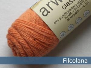 Filcolana Arwetta Classic. Farve: 254 Coral